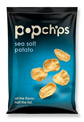 Popchips Popchips Sea Salt- 24 - 0.8 oz (23g) bags (Sea Salt Popchips compare prices)