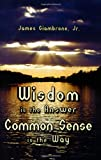Wisdom is the Answer-Common Sense is the Way  Amazon.Com Rank: # 2,953,619  Click here to learn more or buy it now!