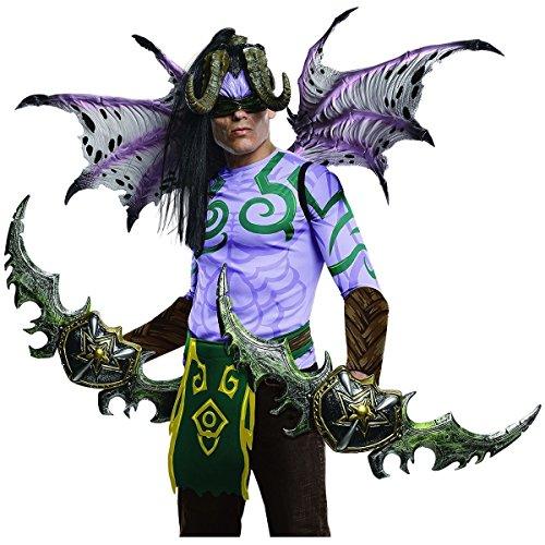 Blizzard Illidan Full Body Mens Halloween Demon Costume