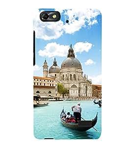 EPICCASE romantic venice Mobile Back Case Cover For Xiaomi Redmi Mi4c (Designer Case)