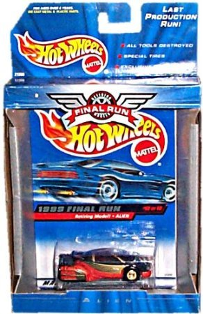Hot Wheels - 1999 Final Run: Retiring Models - Alien (Orange/Black/Gold) - #12 of 12 - 1