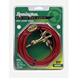 Remington Heavy Cable Dog Tie Out - 20'/30'