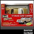 77 Monte Carlo LowRider ProFinish 1977 モンテカルロ ローライダー ゴールド Revell 85-1350 1:25スケール Chevrolet プラモデル [並