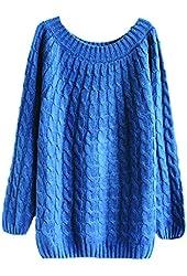 Superbaby Women Star Long Pullover Shirt Tops Sweatshirt Plus size