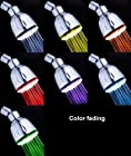 COOLOUT 7 LED Colors Change Fading Faucet Light Shower Head Auto changing Water Faucet