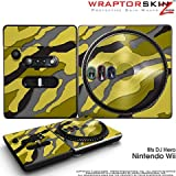 DJ Hero Skin Camouflage Yellow fits Nintendo Wii DJ Heros (DJ HERO NOT INCLUDED)
