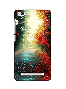 printtech back cover for Xiomi mi4i