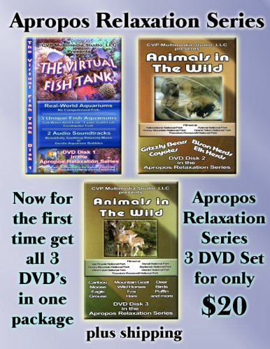 Apropos Relaxation Series DVD 3 Pack