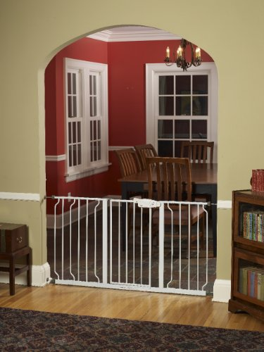 Best Regalo Extra Wide Widespan Gate, White Guides