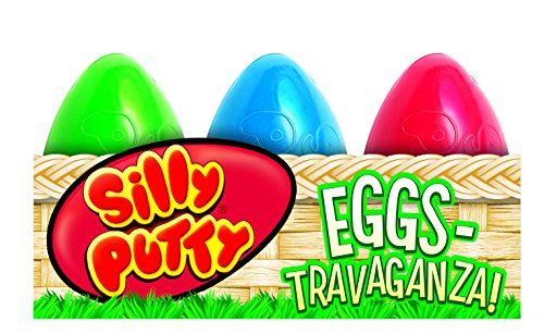 Crayola 6-Count Silly Putty Easter Egg Basket