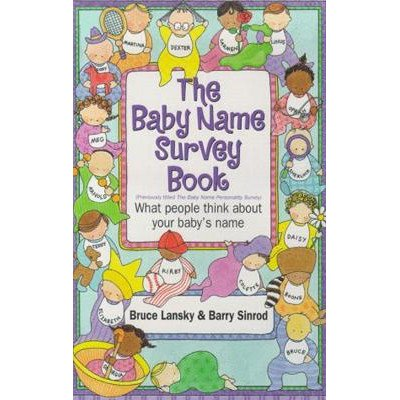 Baby Name Survey Book - 1