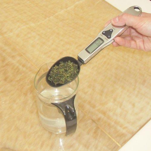 Générique-Cuillère à mesurer 300 HLCS - 300-1 g/10 Cuillère Balance numérique pour lait en poudre, thé, sel