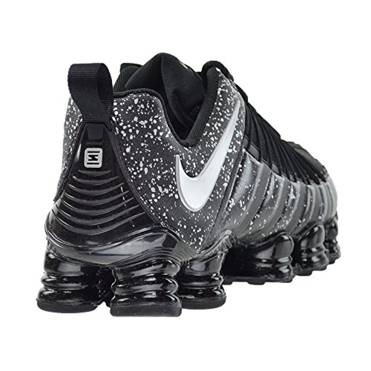 8cb3ade9bfbcc9 ... where to buy nike total shox mens running shoes black metallic silver  749775 003 12 d