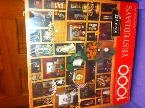 Yesterdays-a-Springbok-King-Size-1000-piece-jigsaw-puzzle