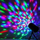 ANNT® 2X Mini Projector 3W LED RGB DJ Disco Stage Light Lighting Xmas KTV Birthday Party Wedding Show Club Pub Bar Lighting Voice-activated