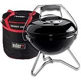 Weber Smokey Joe Premium Grill 37cm Schwarz + Carry Bag