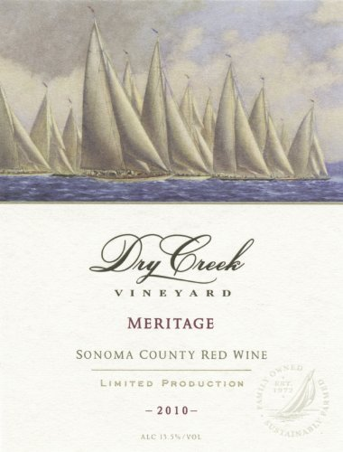 2010 Dry Creek Vineyard Meritage, Sonoma County 750 Ml