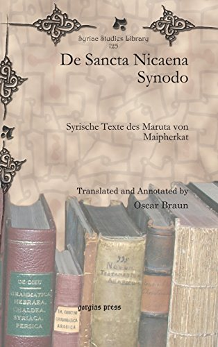 De Sancta Nicaena Synodo (Syriac Studies Library)