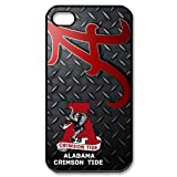 New Desgin NCAA Alabama Crimson Tide Iron lines IPhone 4/4S Cover Case at Amazon.com