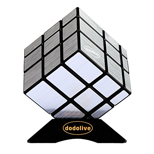 Dodolive Mirror Magic Cube Intellengence Kids Educational Tools Puzzle Game,Silver