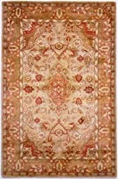 Rugs America Cyrus, Taupe, 3 by 5-Feet