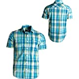 Hurley Men's Friction Short Sleeve Woven Shirt, Riviera Blue, XX-Large