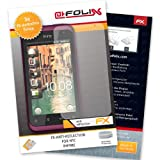AtFoliX Protective Screen Film HTC Rhyme Pack of 3 - FX-Antireflex Non-Reflective Premium Protective Film