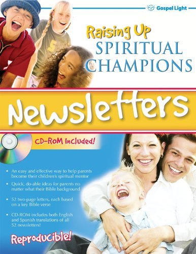 Raising Up Spiritual Champions Newsletter by Jean Lawson (December 01,2014) (Raising Spiritual Champions compare prices)