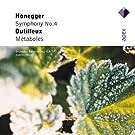 Honegger : Symphony No.4 & Dutilleux : M�taboles - Apex
