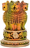 Kapasi-Handicrafts-Ashok-Stambh-pillar-National-Emblem-India-Pen-Pencil-Holder-Stand