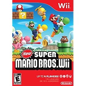 New Super Mario Bros. Wii (Video Game) By Nintendo          Buy new: $25.16 329 used and new from $12.00     Customer Rating: