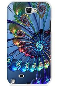 IndiaRangDe Hard Back Cover FOR Samsung Galaxy Note 2 II N7100