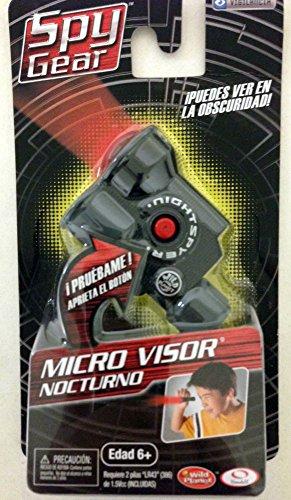 Spy Gear Micro Nightspyer (Packaging in Spanish), Black