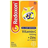 Redoxon All Day Defence Capsules Vitamin C + Zinc 1000mg 40 Capsules