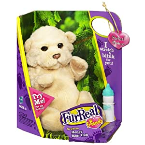 Amazon Com Furreal Friends Newborn Honey Bear Cub Toys