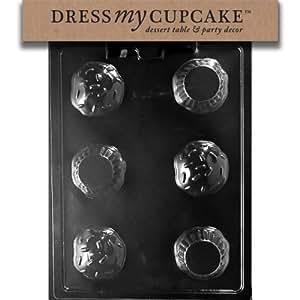 Dress My Cupcake DMCK155 Chocolate Candy Mold, Cupcake