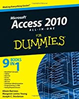 Access 2010 All-in-One For Dummies Front Cover