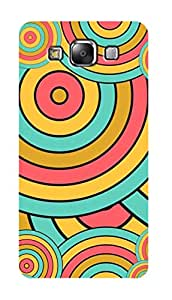 SWAG my CASE PRINTED BACK COVER FOR SAMSUNG GALAXY E5 Multicolor