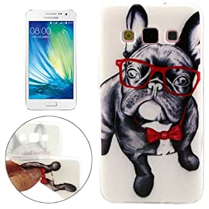 Crazy4Gadget Cartoon Pattern TPU Protective Case for Samsung Galaxy A3 / A300F