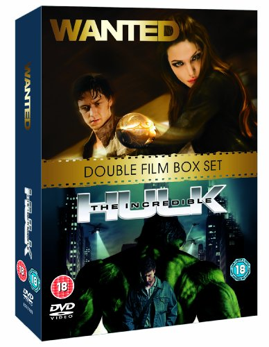 Wanted/the Incredible Hulk [dvd] Picture