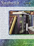 Vocabu-Lit Book E Teacher Guide (Perfection Learning)
