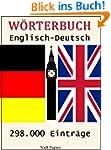 W�rterbuch Englisch-Deutsch: 298.000...