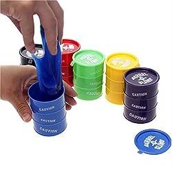 Nachiketa Barrel-O-Slime Kids Toy Slime Putty (Pack of 5)