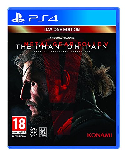 Metal Gear Solid V: The Phantom Pain - Day 1 Edition (PS4) (Metal Gear Solid 5 Phantom Pain compare prices)