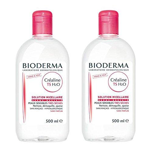 ビオデルマ サンシビオ H2O TS ベリードライ 乾燥肌用 500ml×2本セット