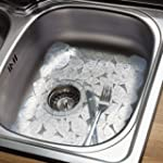 Leaf Sink Protector Mat 38x28cm