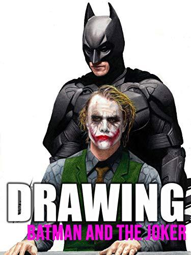 Clip: Drawing Batman and the Joker