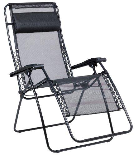 Lafuma Rsx Folding Chair Black Tube Noir X Large