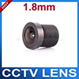Toughsty® 1.8mm 170 Degree Wide Angle CCTV Lens 1/4