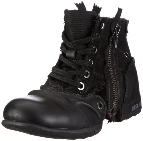 REPLAY Clutch, Herren Biker Boots, Schwarz (BLACK 3), 43 EU thumbnail
